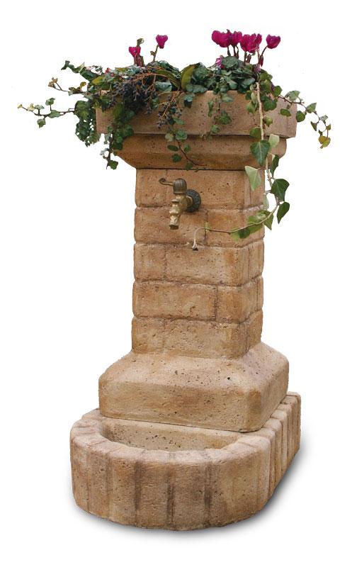 Fontana da giardino adria rovigo arredogiardino - Fontane a muro da giardino ...