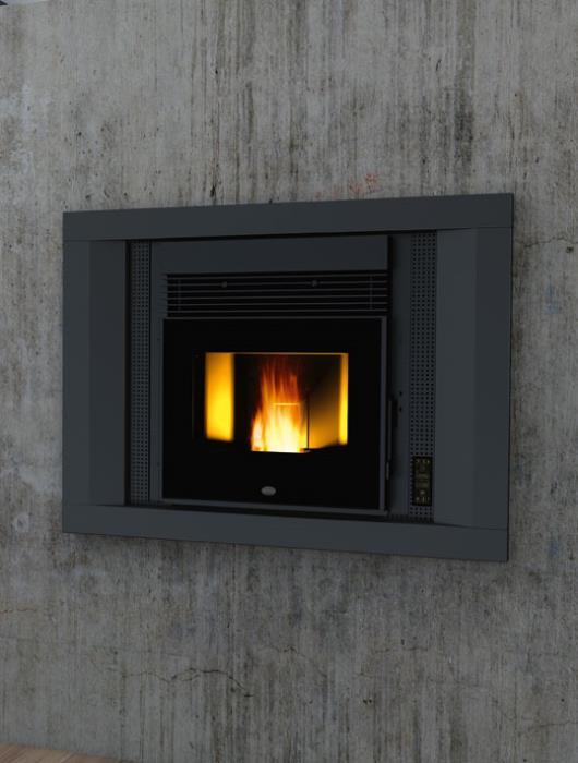 insert pellet andrea canalise eva calor 11 kw. Black Bedroom Furniture Sets. Home Design Ideas