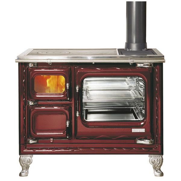 Cucina a legna smaltata in vari colori deva II 100 hergom