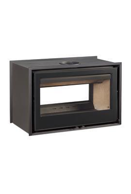 Inserto a legna  ARc 80 Dc bifacciale  16 Kw.