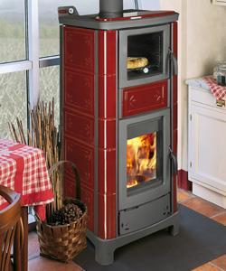 Termostufa a legna con forno ardhea fiori for Termostufe a legna con forno