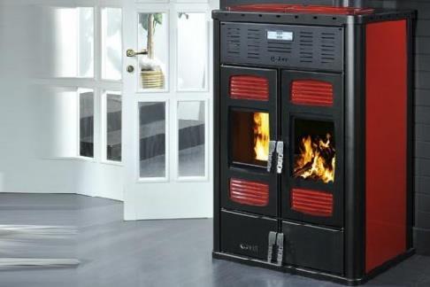 Termostufa combinata legna pellet klover vendita termostufa klover - Termostufa a legna thermorossi ...