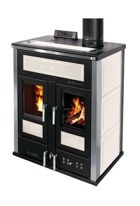 Termostufa combinata legna pellet klover vendita termostufa legna pel - Termostufa a legna thermorossi ...