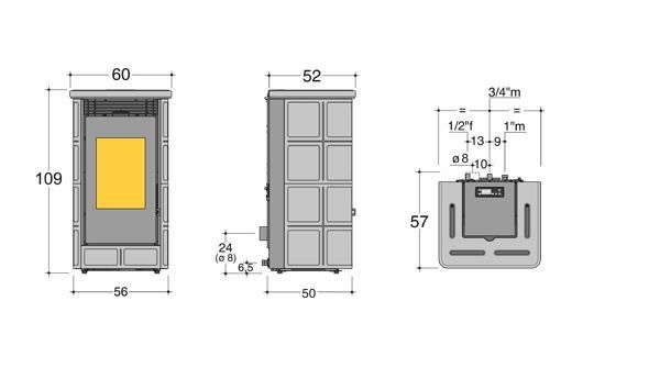 po le granul s country 12 kw po le po le granul s. Black Bedroom Furniture Sets. Home Design Ideas
