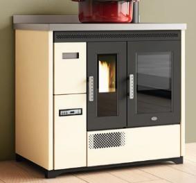 Cucina a pellet ENRICA 9 Kw.