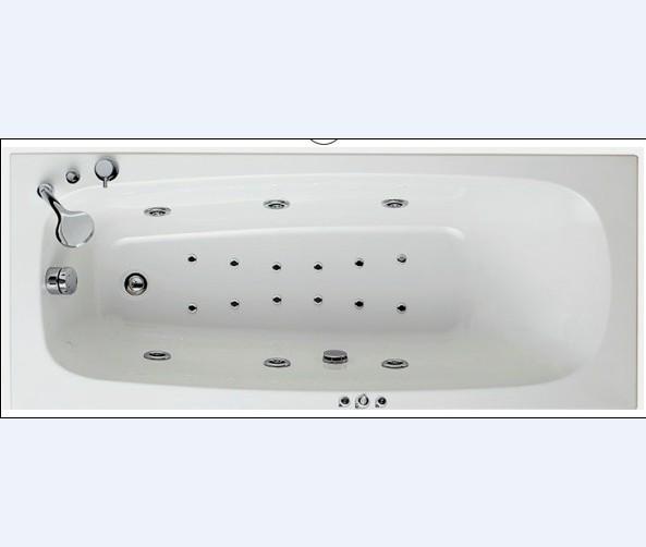 Vasca Rettangolare OPALJA  140-160-170 x 70 whirpool DIGIT