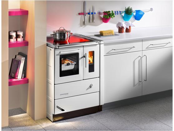 Cucina a legna economica haas sohn hsd 60 piano vetro - Cucina economica splendid ...