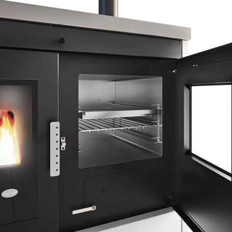 Termocucina a pellet  ISOTTA  21Kw.