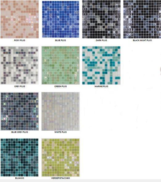 Mosaico Mix Classic Plus  mm.20x20  (conf. 2,14 mq)