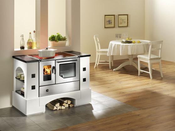 Cucina a legna economica haas sohn planai piano vetro - Cucina economica splendid ...