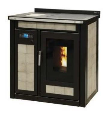 Pellet-cuisinieres thermo SMART 80 maiolique 23,3 Kw. klover