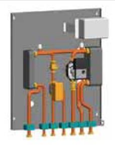 Kit di sep. circuito primario e secondario + prod. acqua sanitaria per MB