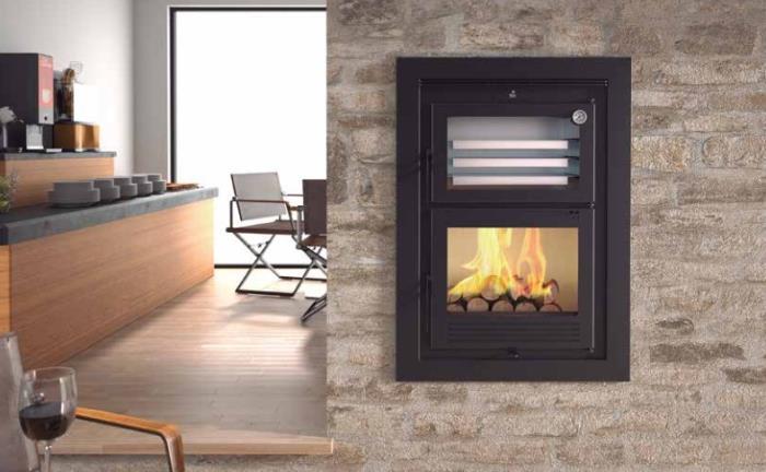 Forno incasso a legna per riscaldamento e cottura - Migliore marca forno da incasso ...
