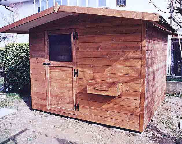 Casetta in legno vendita montaggio casette legno con for Casette legno 5x5