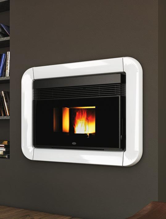 insert pellet tommy eva calor 11 kw. Black Bedroom Furniture Sets. Home Design Ideas