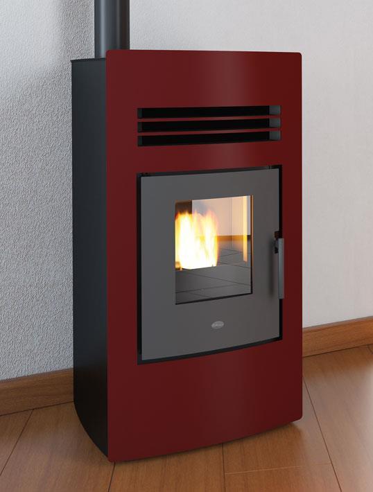 Stufa a pellet sonia scarico superiore eva calor - Stufe a bioetanolo prezzo ...