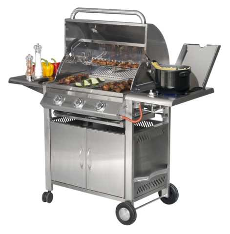barbecue a gaz texas 3 sunday. Black Bedroom Furniture Sets. Home Design Ideas