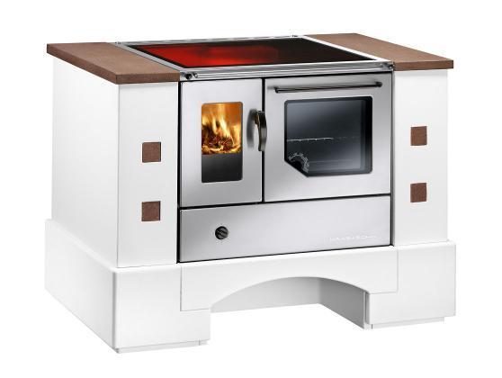 Cucina a legna economica haas sohn planai piano vetro - Cucine in vetroceramica ...