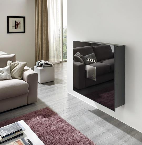 po le granul s suspendu quadra 7 kw smart fire. Black Bedroom Furniture Sets. Home Design Ideas