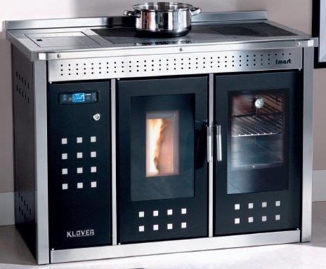 Termocucina a pellet klover termostufa a pellet sicuro top - Termostufe a legna klover ...