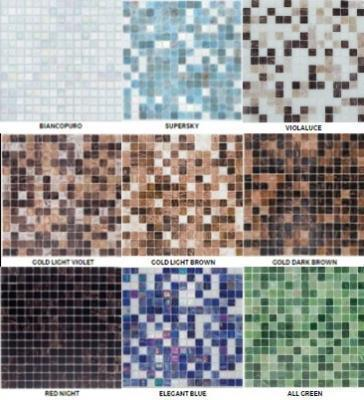Mosaico Mix Gold  mm.20x20  (conf. 1,07 mq)
