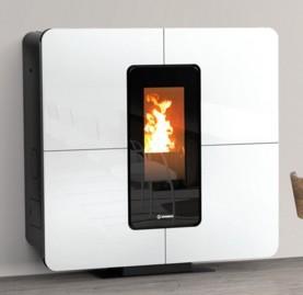 Thermo pellet stove belvedere 22 top for Thermorossi slimquadro idra maxi